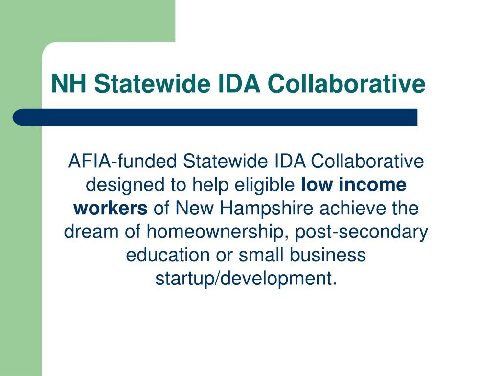NH Statewide IDA Collaborative