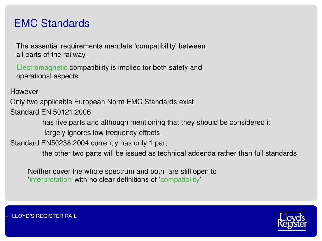 EMC Standards