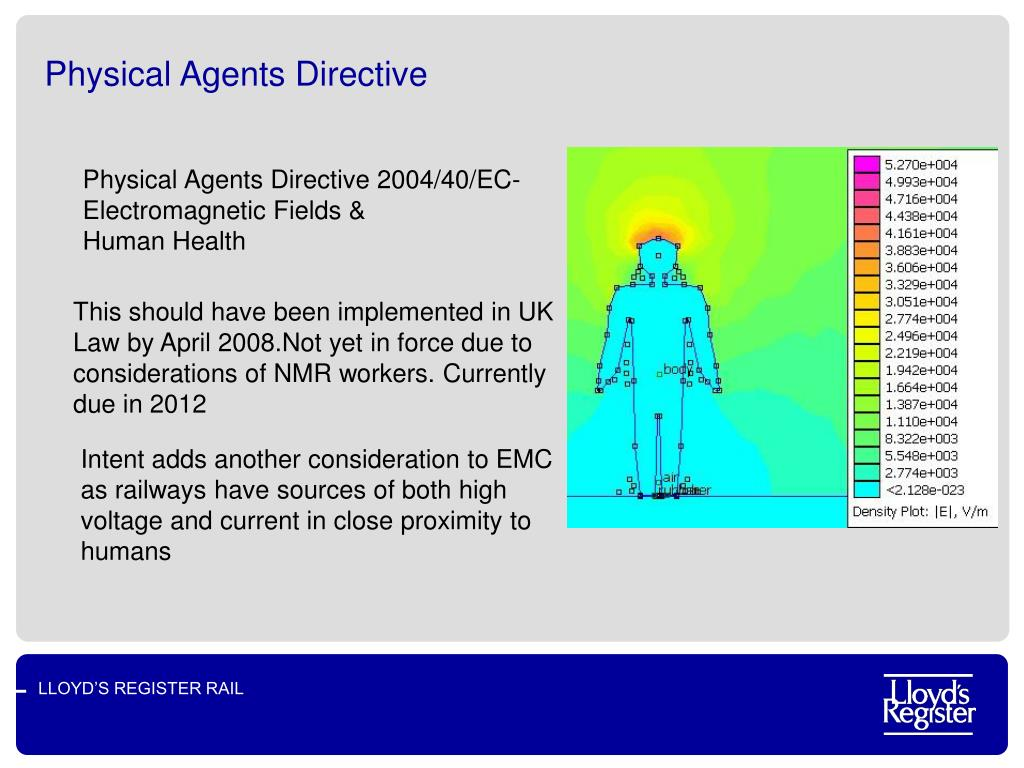 Physical Agents Directive