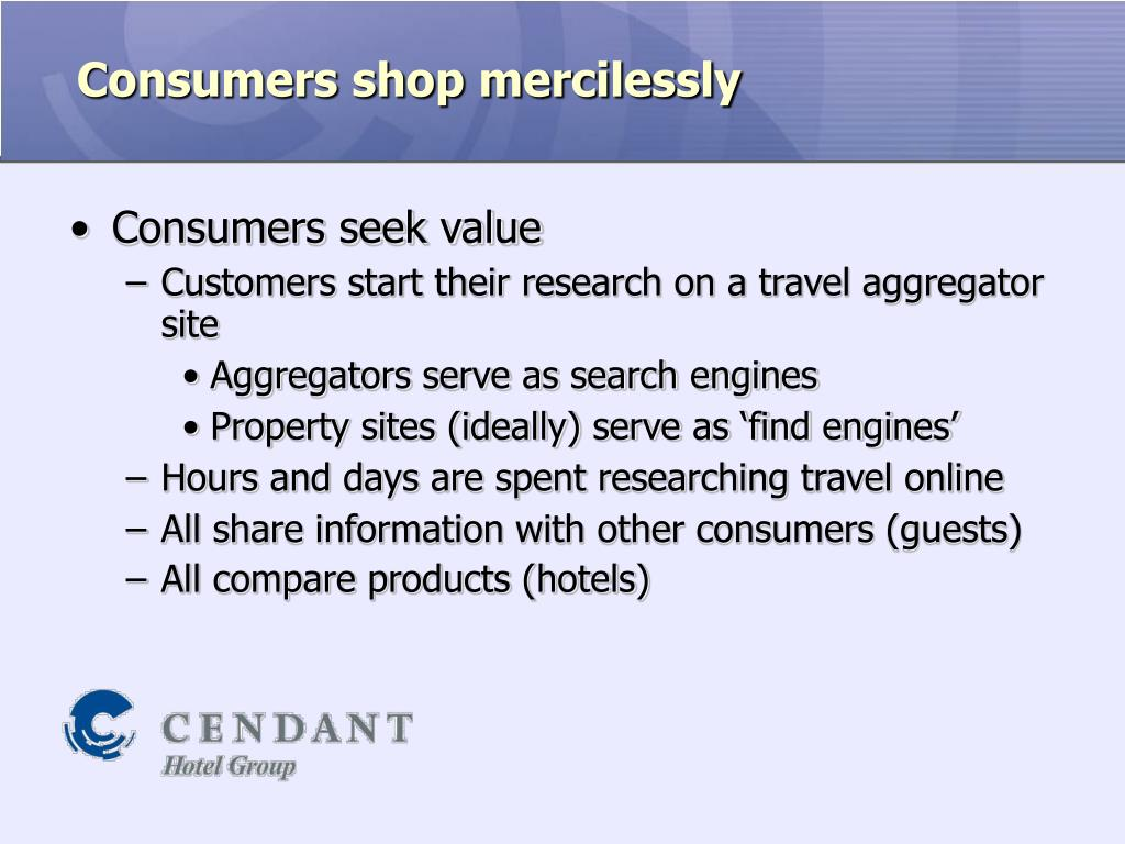 Consumers shop mercilessly