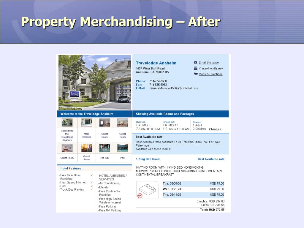 Property Merchandising – After