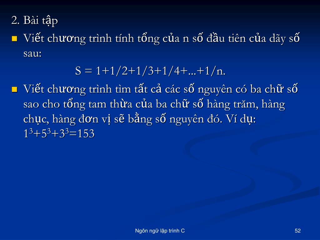 2.Bài tập