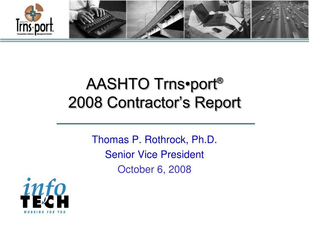 AASHTO Trns•port
