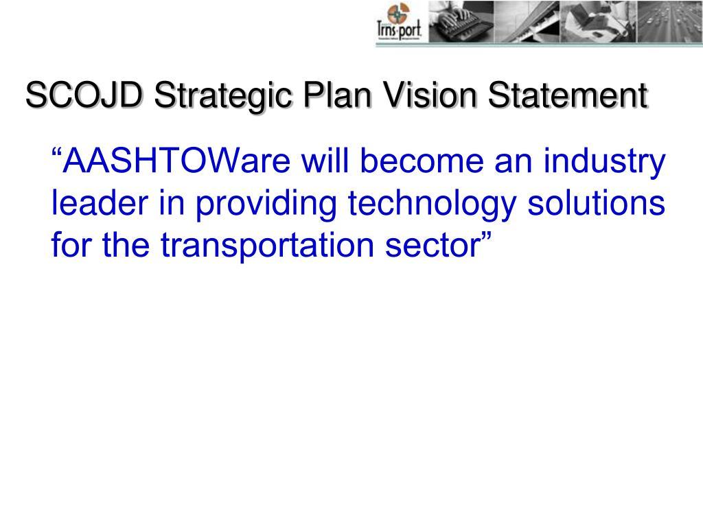 SCOJD Strategic Plan Vision Statement