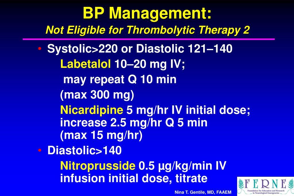 BP Management: