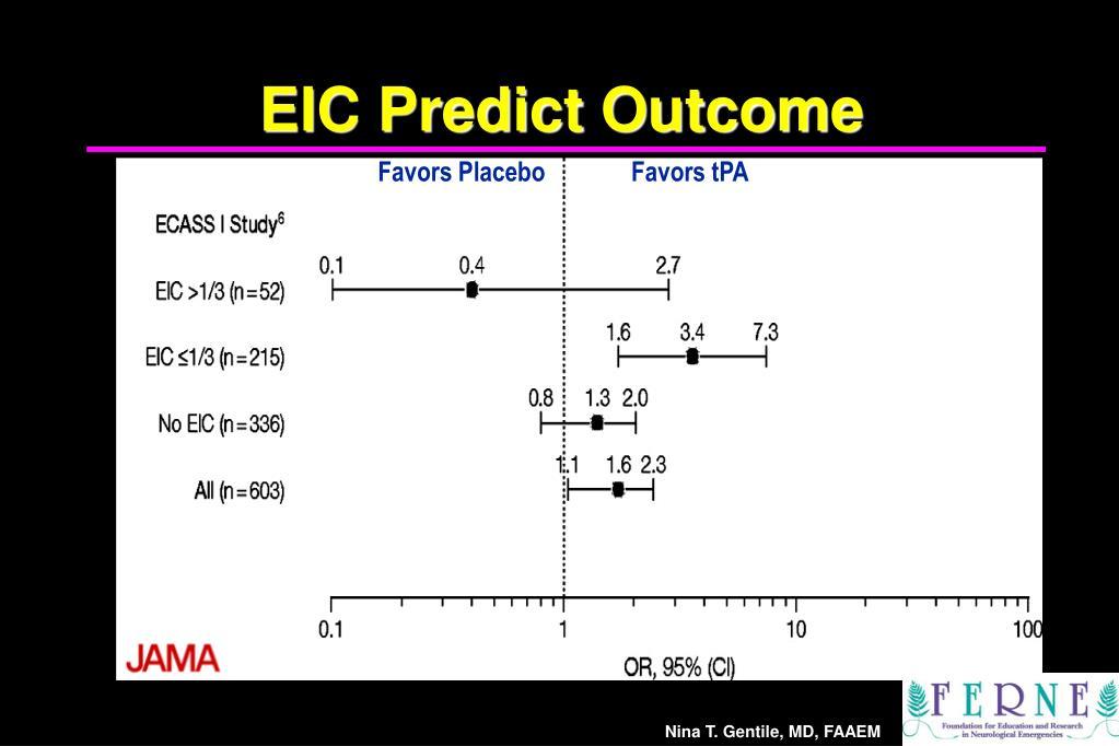 EIC Predict Outcome