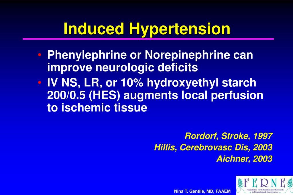 Induced Hypertension