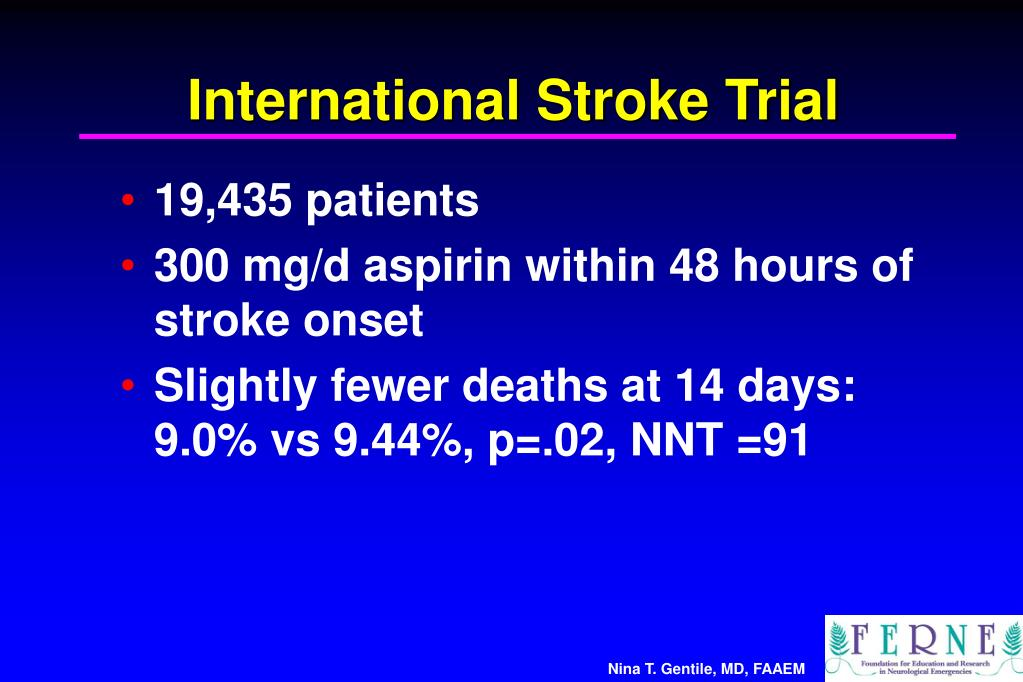 International Stroke Trial