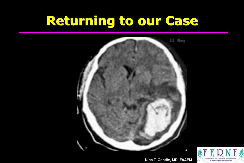 Returning to our Case