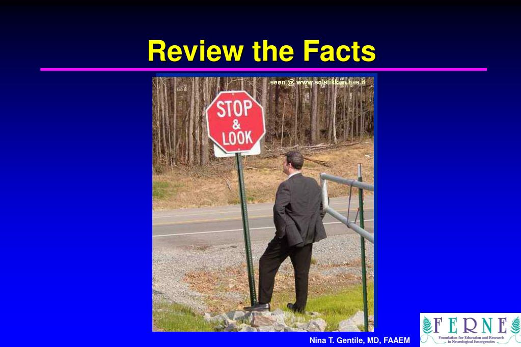Review the Facts