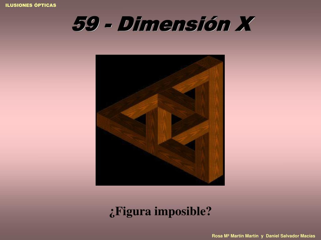 59 - Dimensión X