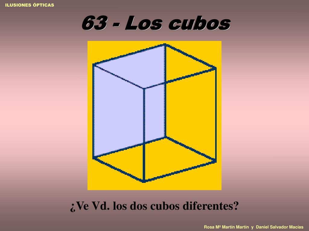 63 - Los cubos
