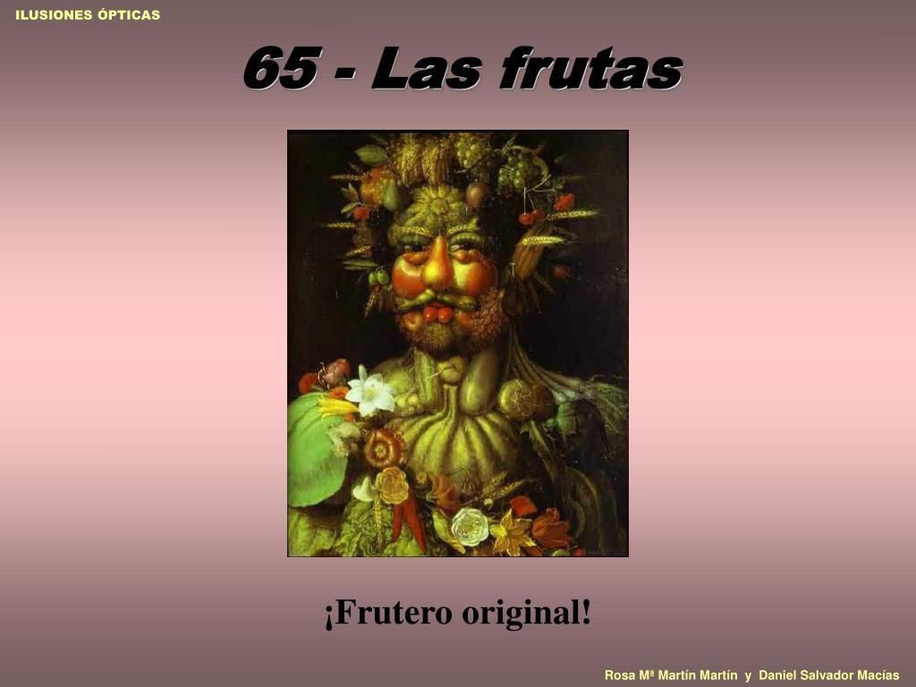 65 - Las frutas
