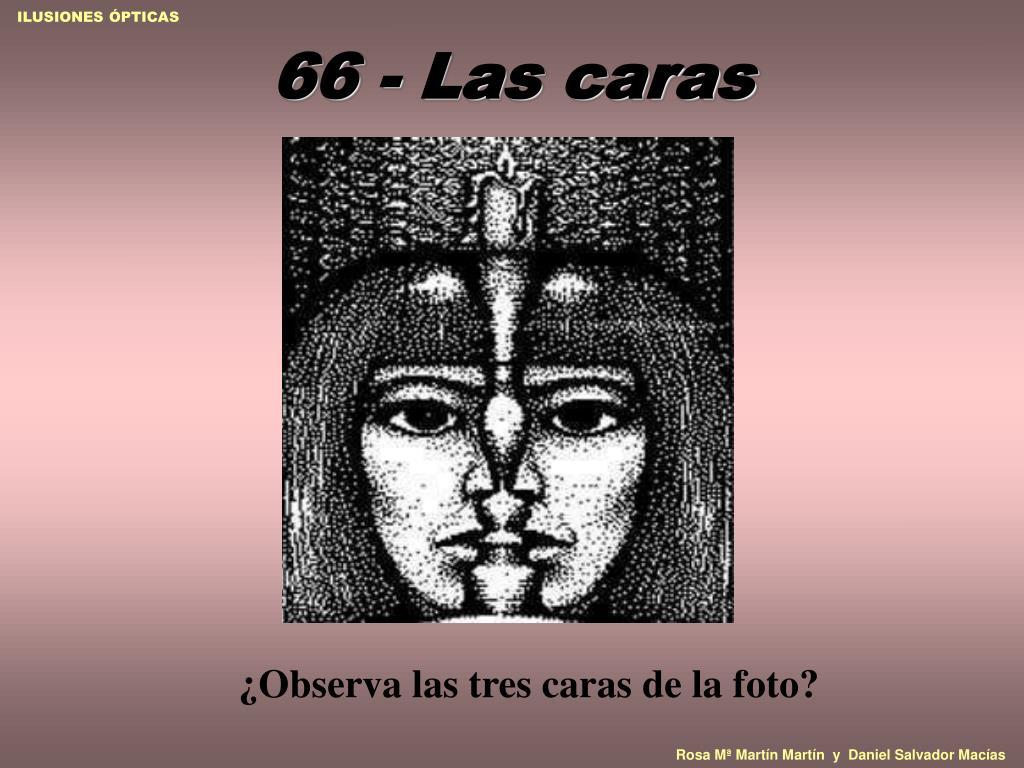 66 - Las caras