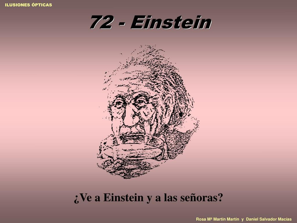 72 - Einstein