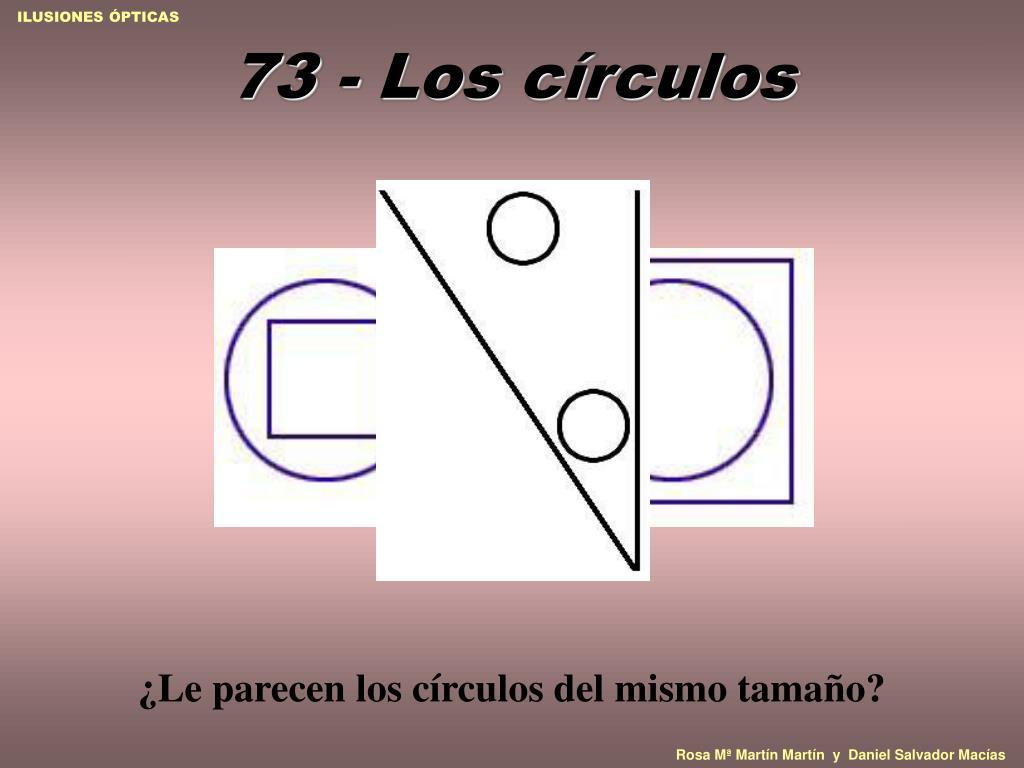 73 - Los círculos