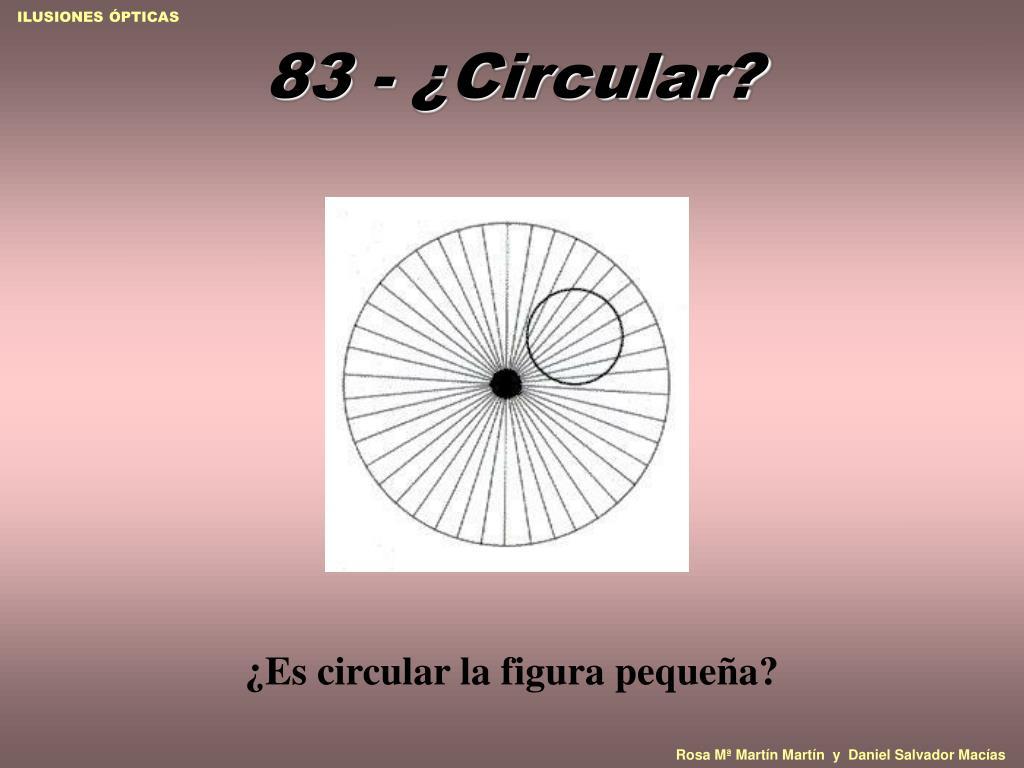 83 - ¿Circular?