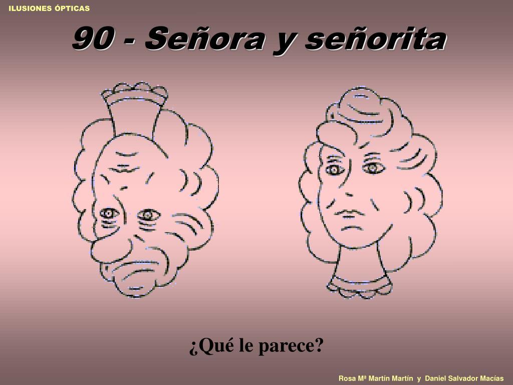 90 - Señora y señorita