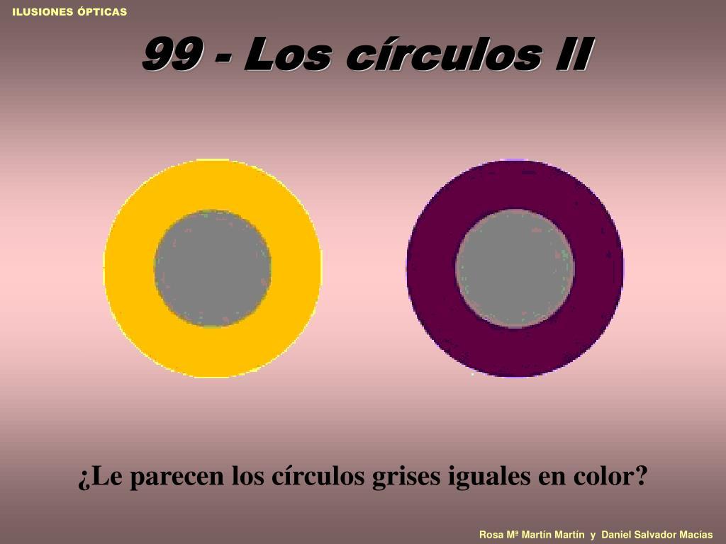 99 - Los círculos II