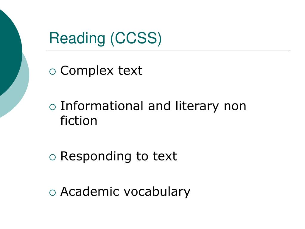 Reading (CCSS)