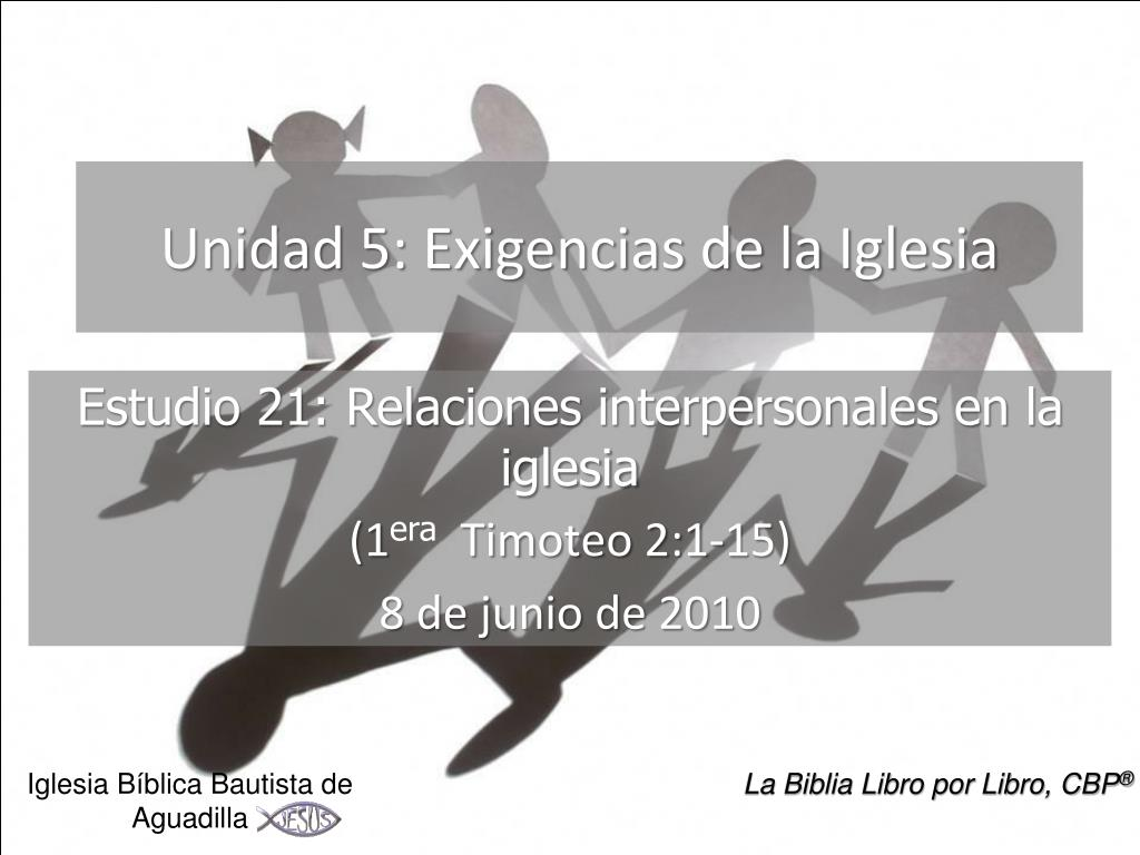 Unidad 5: Exigencias de la Iglesia
