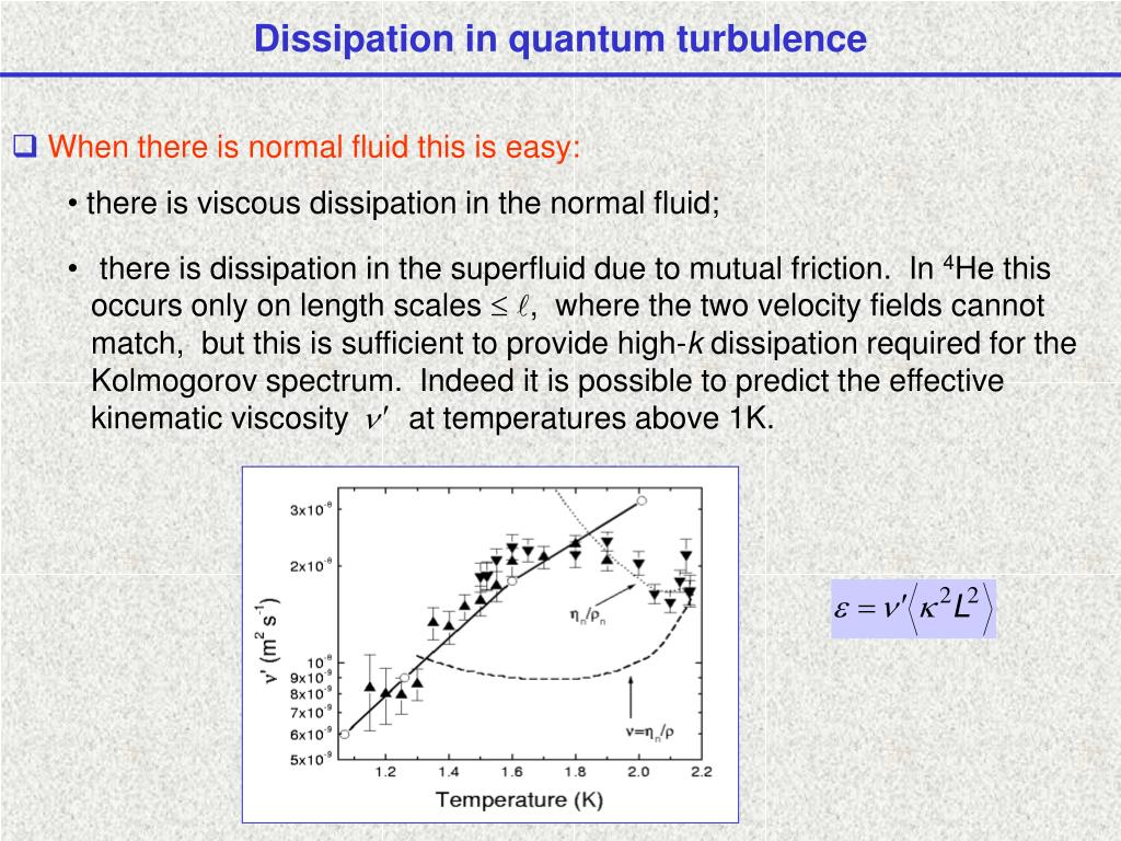 Dissipation in quantum turbulence
