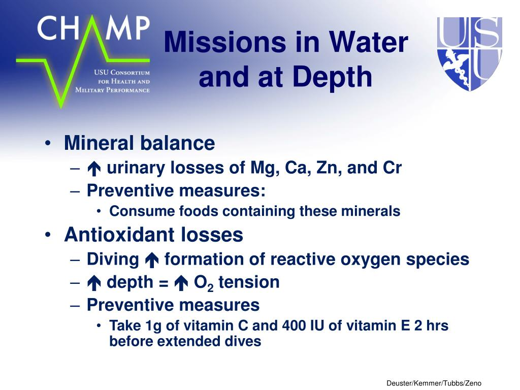 Missions in Water