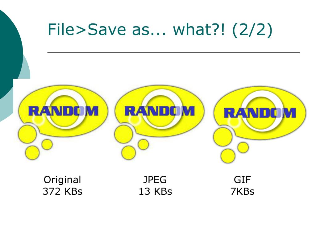 File>Save as... what?! (2/2)