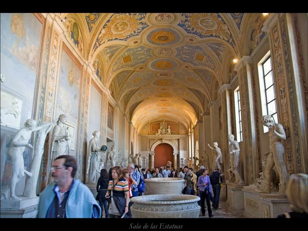 Sala de las Estatuas