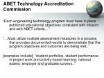 abet technology accreditation commission