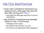 ssl tls good practices