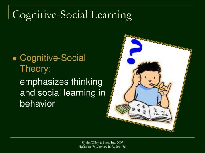 cognitive social learning theory