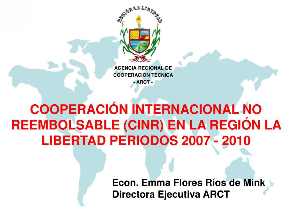 AGENCIA REGIONAL DE