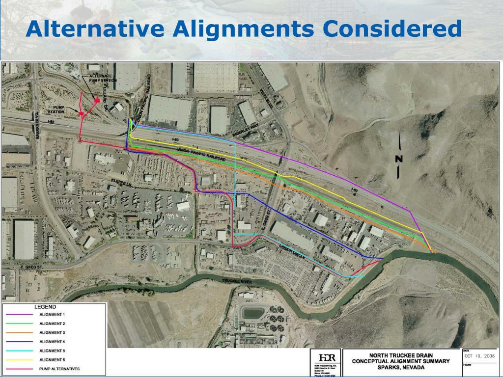 Alternative Alignments Considered