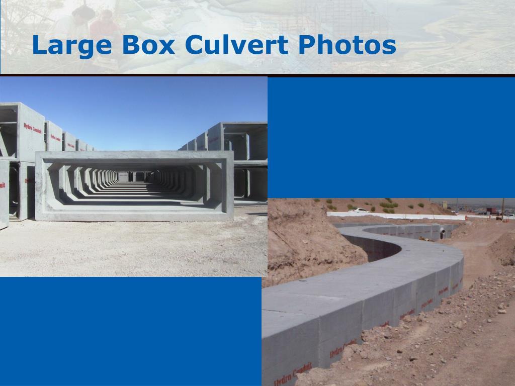 Large Box Culvert Photos