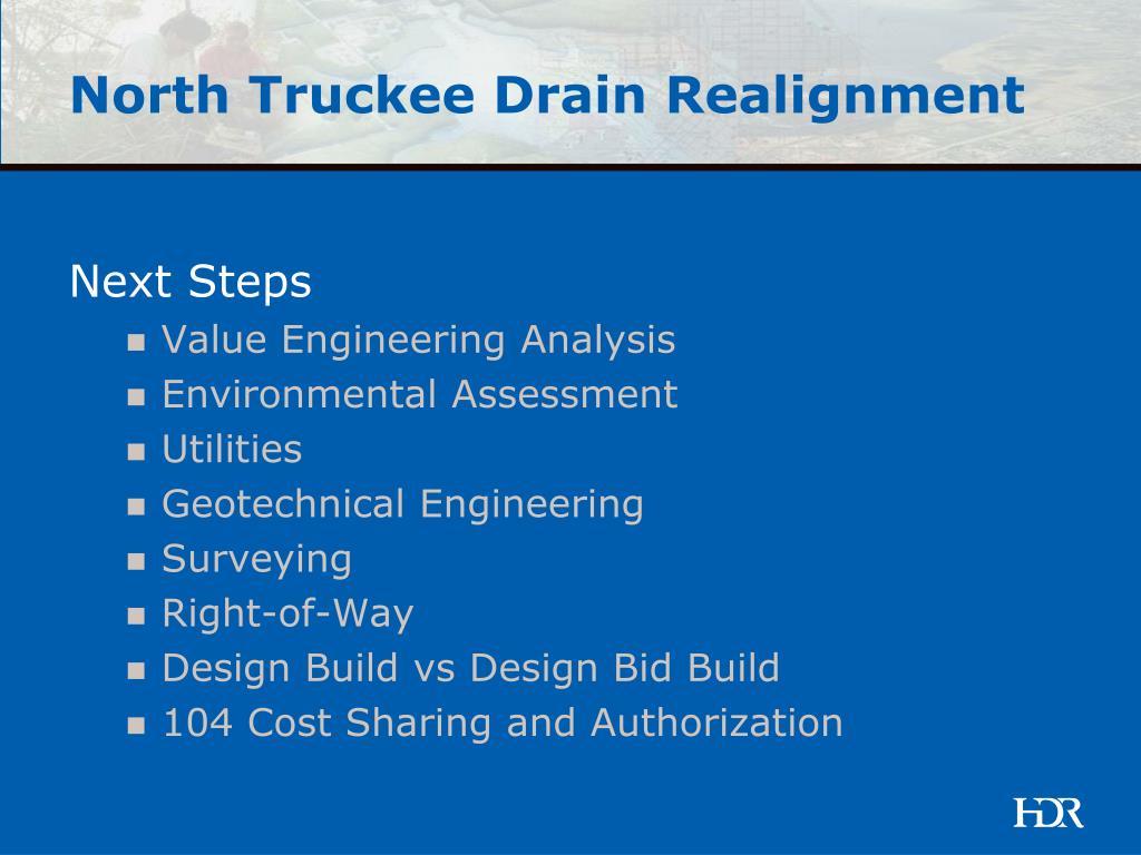 North Truckee Drain Realignment