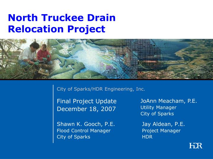 North truckee drain relocation project2