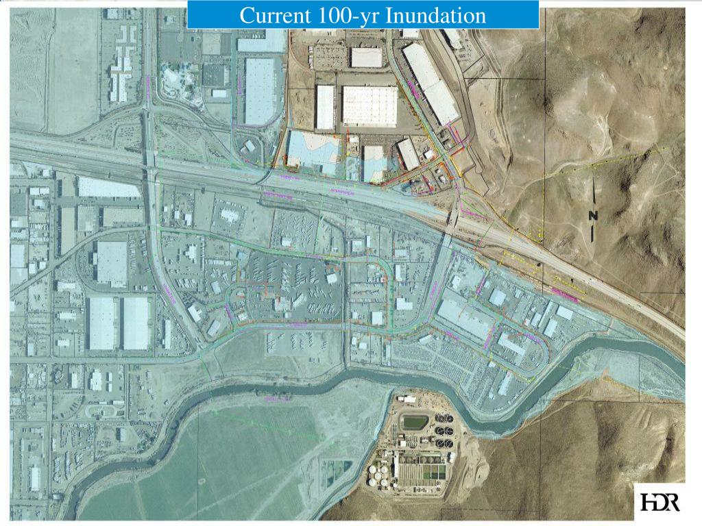 Current 100-yr Inundation