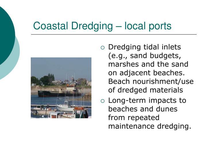 Coastal Dredging – local ports