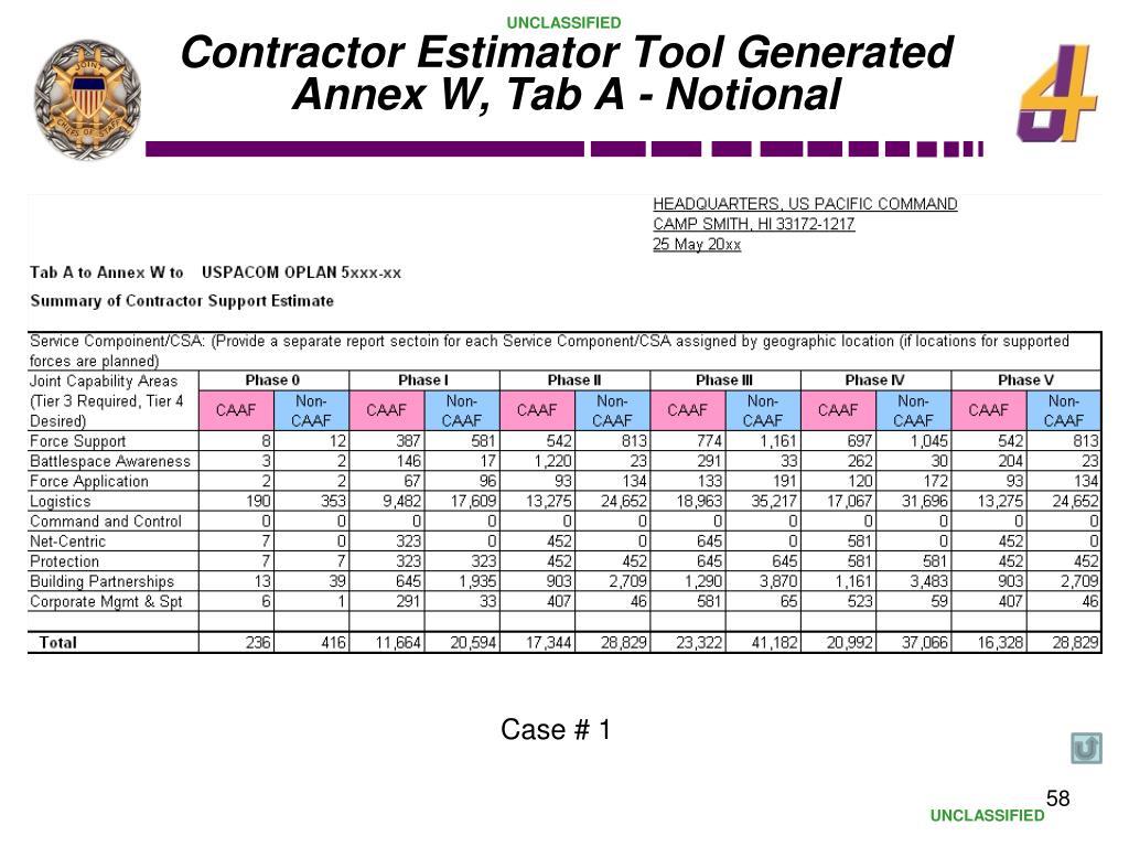 Contractor Estimator Tool Generated