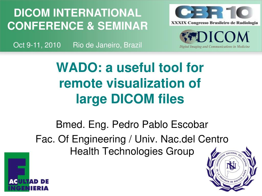 wado a useful tool for remote visualization of large dicom files