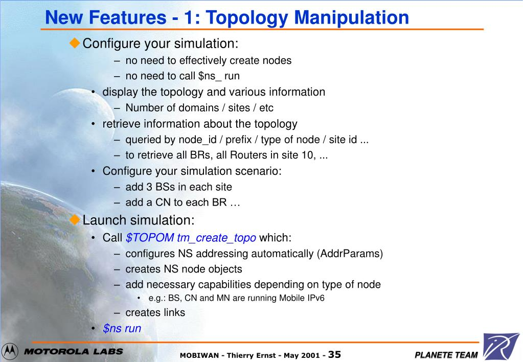 New Features - 1: Topology Manipulation