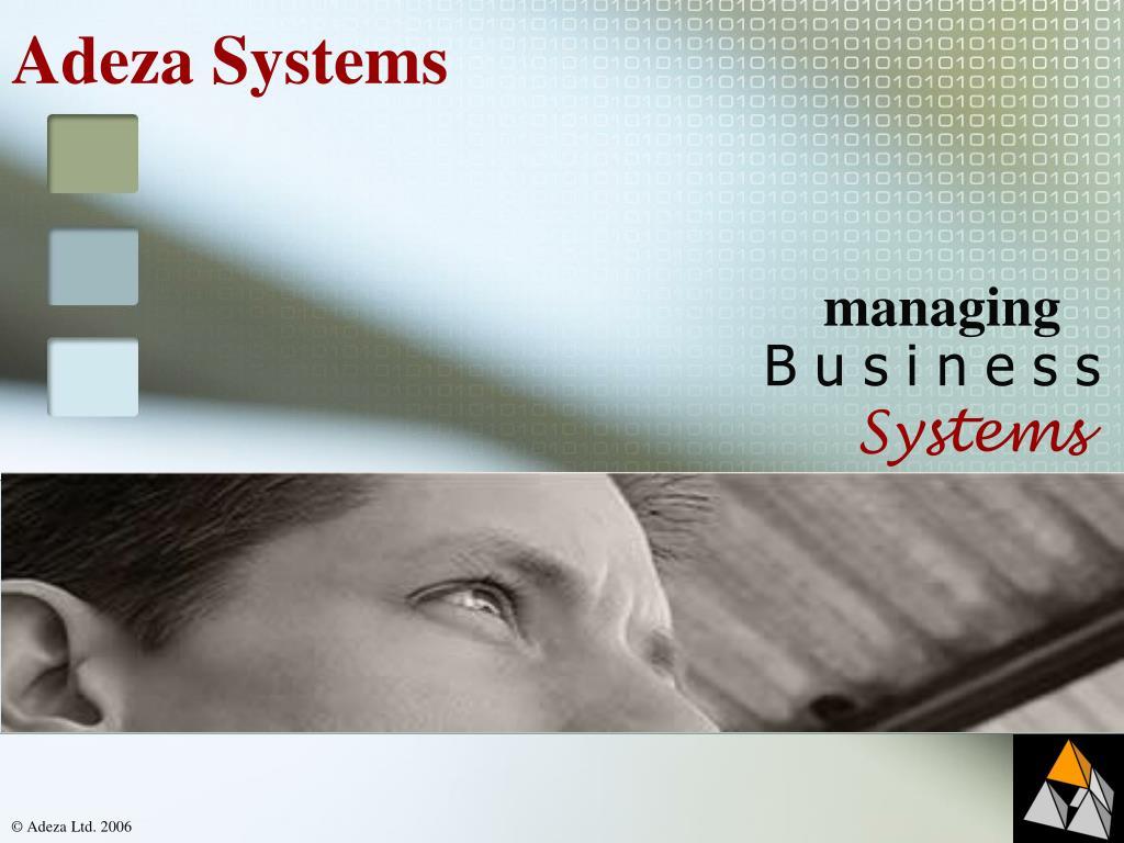 adeza systems l.