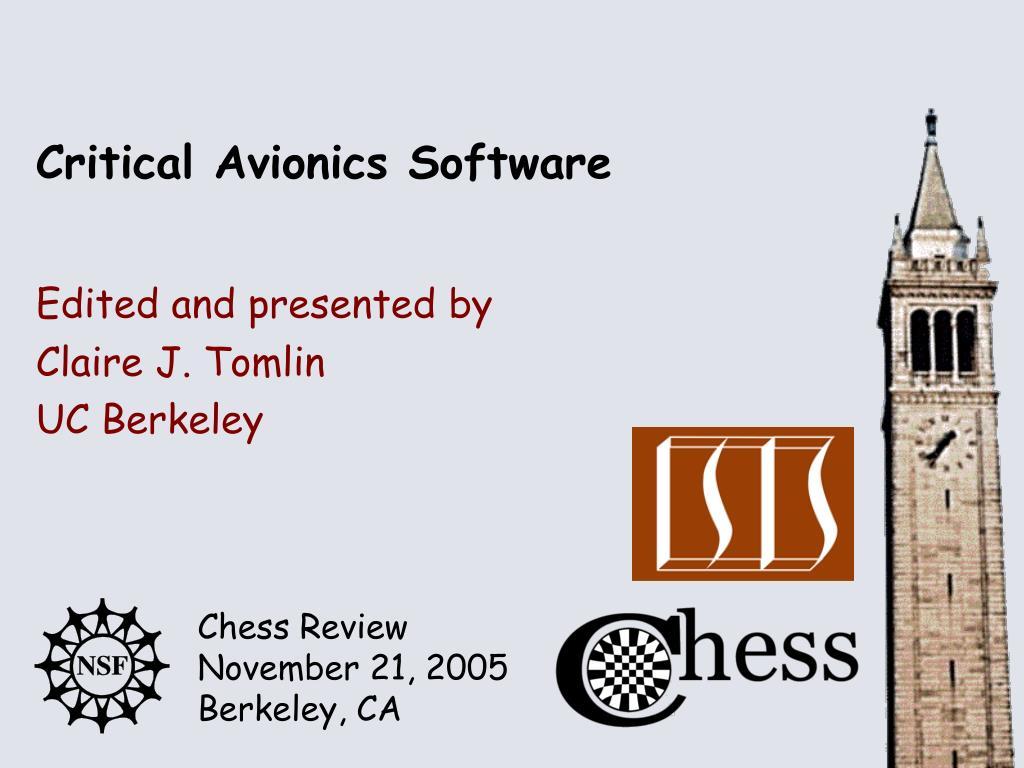 critical avionics software