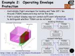 example 2 operating envelope protection15