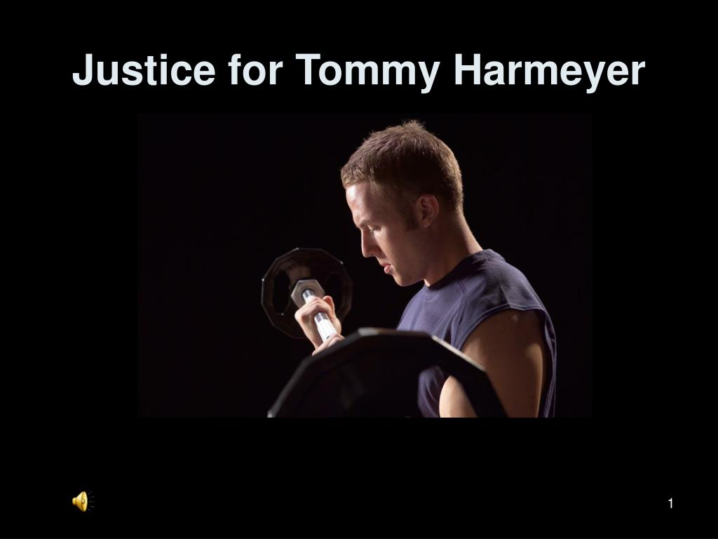 justice for tommy harmeyer l.