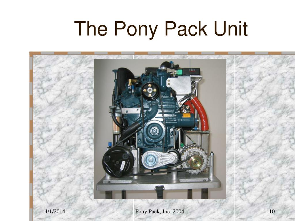 The Pony Pack Unit