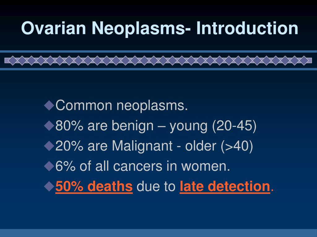 Ovarian Neoplasms- Introduction