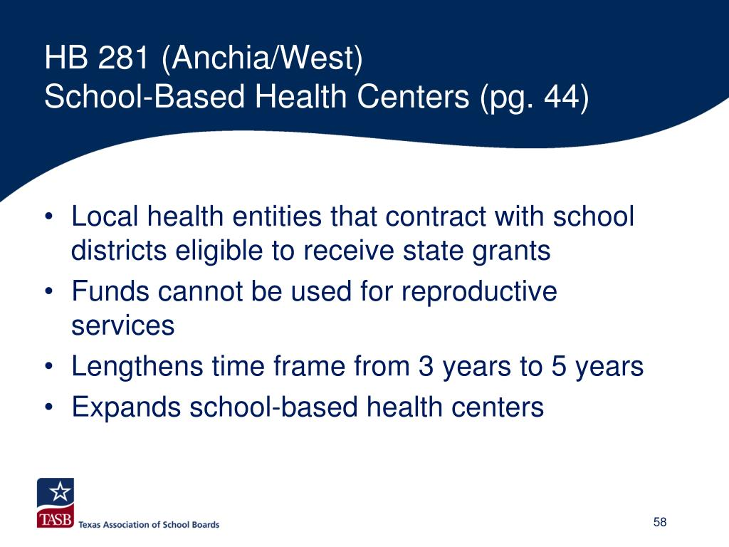 HB 281 (Anchia/West)