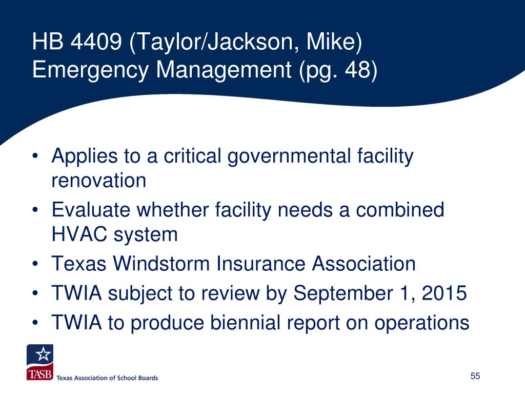 HB 4409 (Taylor/Jackson, Mike)